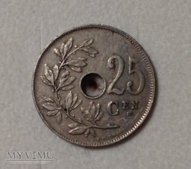 25 centów, Belgia 1921 r.