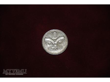 - Nowa Zelandia - 50 centów - 1988