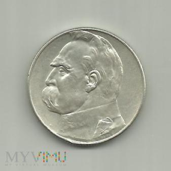 Polska 5 złotych, 1935 Józef Piłsudski ;
