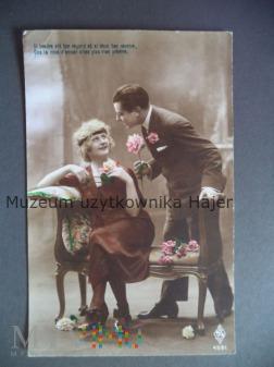 Para zakochanych kartka pocztowa