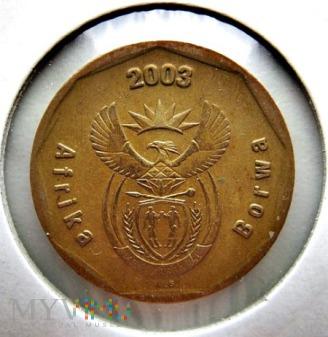 50 centów 2003 r. Afryka Południowa
