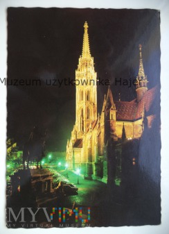 BUDAPEST Budapeszt widokówka
