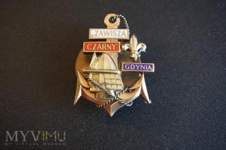 Duże zdjęcie Pamiątkowa odznaka - Zawisza Czarny - Statku ZHP
