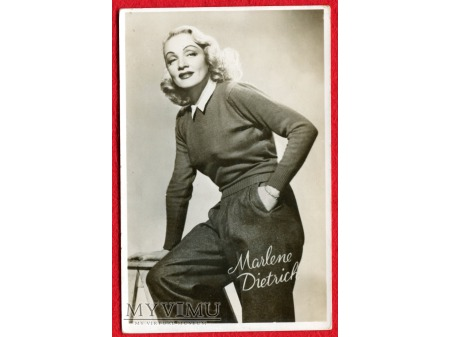 Marlene Dietrich Marlena lata 40-te Fotografia