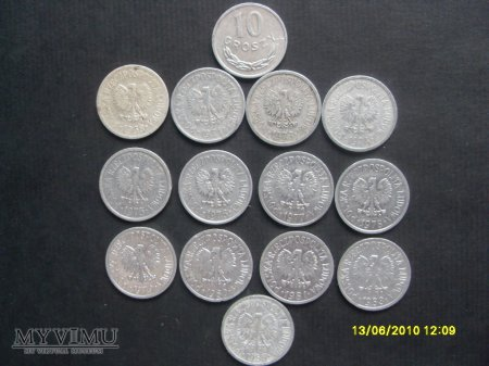 10 groszy PRL.
