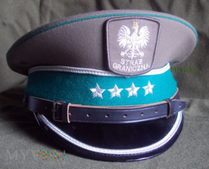 Czapka garnizonowa oficerska SG (wzór III)