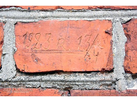 """Duże zdjęcie """"Stara Prochownia"""" - budynek A - inskrypcja #031"""