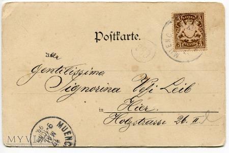 1899 Raphael Kirchner Dziewczyna z wędką