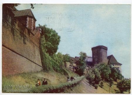 Kraków - Wawel - strona południowa - 1966