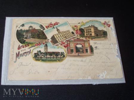 GRÜSS AUS MILITSCH 1898
