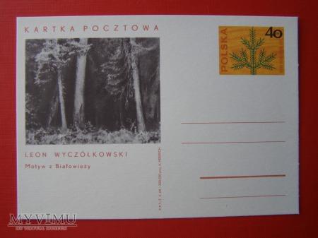 33. L. Wyczółkowski Motyw z Białowieży
