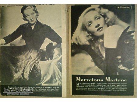 Marlene Dietrich 1952 Picture Story dodatek