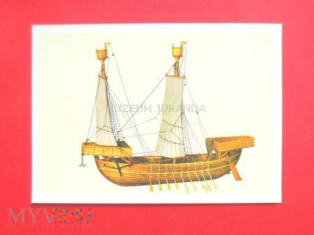 Statek normandzki z XIII wieku