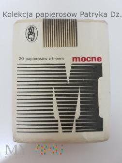 Papierosy MOCNE 20 szt. 1991 rok