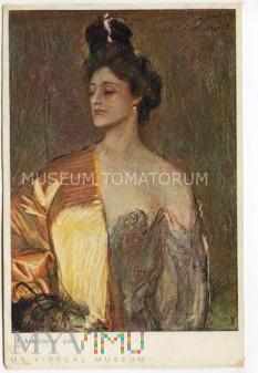 Axentowicz - Kobieta
