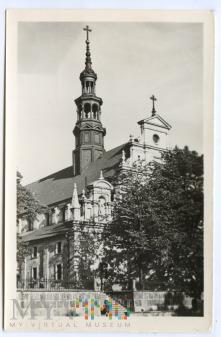 Kielce - Kościół Katedralny - 1956