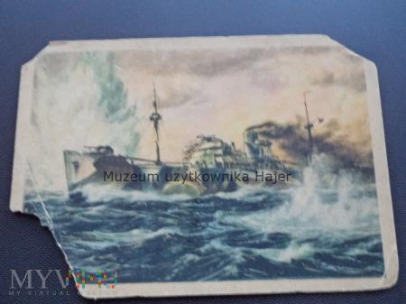 Kriegsmarine Kartka pocztowa