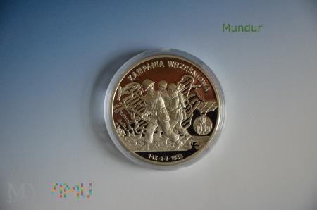 """Moneta kolekcjonerska """"KAMPANIA WRZEŚNIOWA"""""""