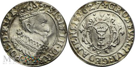 Grosz 1627 Gdańsk