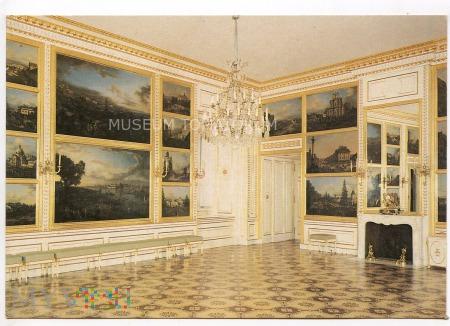 W-wa - Zamek - wnętrza, Sala Canaletta - 1990