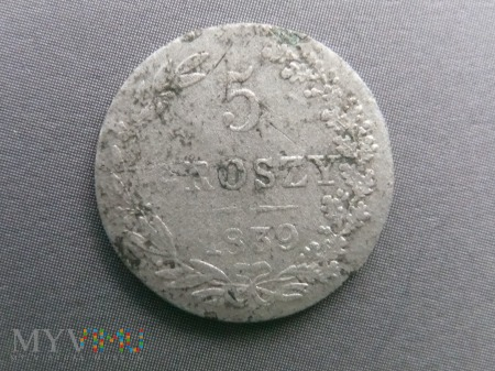 5 groszy 1839