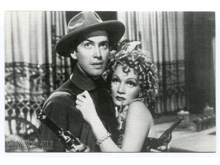 Duże zdjęcie Marlene Dietrich James Stewart 1939 MARLENA