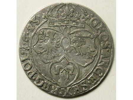 Szóstak mennica Kraków- 1623 r-