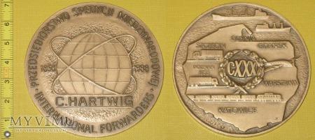 Medal kolejowy - przewozowy C. Hartwig