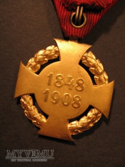 JUBILÄUMSKREUZ 1908 - wersja cywilna