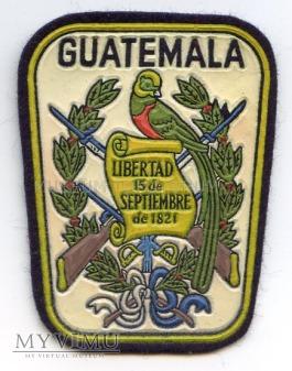 Naszywka - Gwatemala