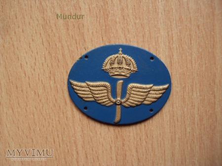 Szwecja-oznaka specjalności wojskowej: flygvapnet