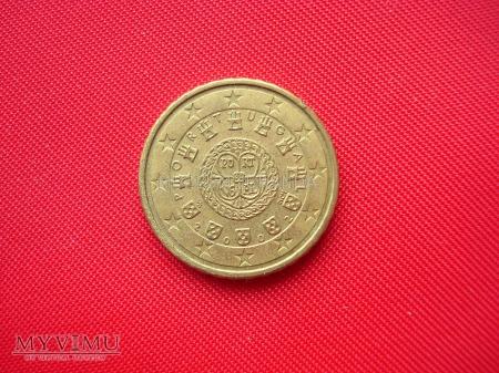 10 euro centów - Portugalia