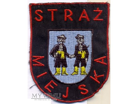 Straż miejska - emblemat wz 1