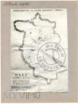 Mapa Litwy i Rusi