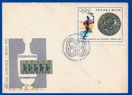 XIX Igrzyska Olimpijskie w Meksyku.2.9.1968
