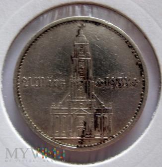 5 reichsmarek 1934 r. Niemcy (Trzecia Rzesza)