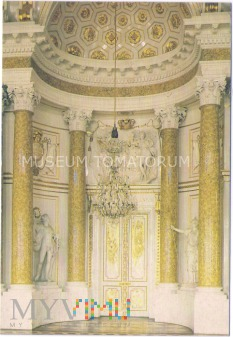 W-wa - Zamek - wnętrza, Sala Wielka - 1990