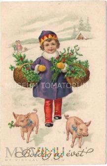 Świnka Noworoczna - 1930