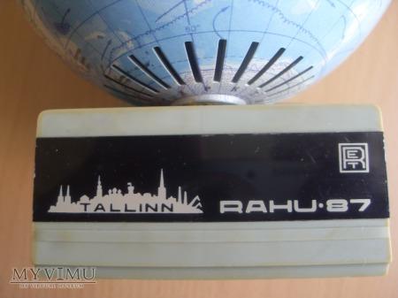 """Radio-Globus """"Rahu 87""""."""