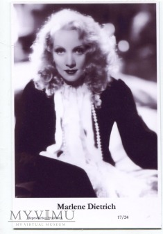 Marlene Dietrich Swiftsure Postcards 17/24