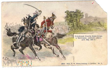 Pojedynek K.Różyckiego z Howenem pod Iłżą. 1831r.