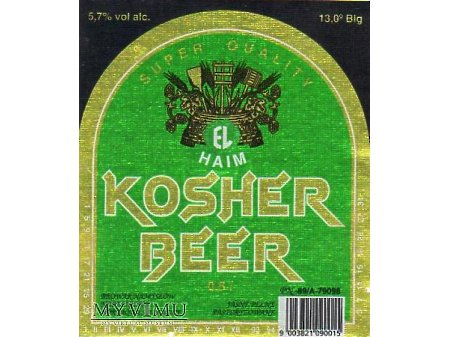 Etykieta KOSHER 35