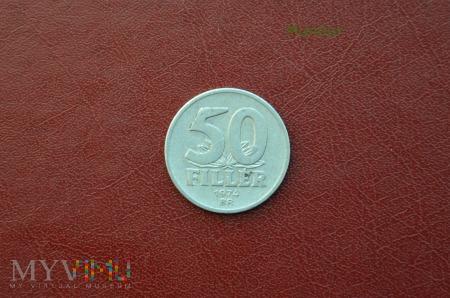 Moneta węgierska: 50 filler