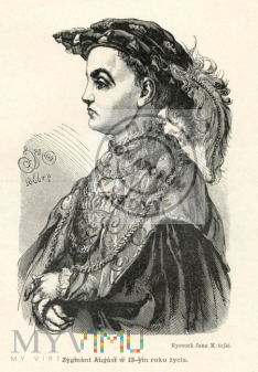król Zygmunt August - Matejko
