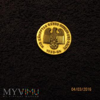 Odznaki Winterhilfswerk (WHW)-III Rzesza