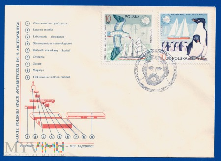 X-Lecie Polskiej Stacji Antarktycznej-13.2.1987.1b