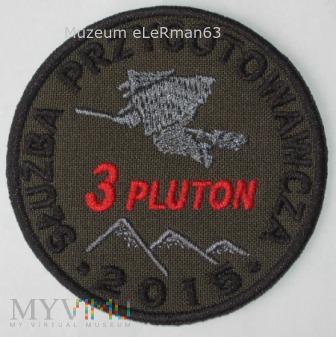 Służba Przygotowawcza 3 Pluton CPdMZ. Kielce 2015.