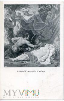 van Dijck - Antiope i Jupiter