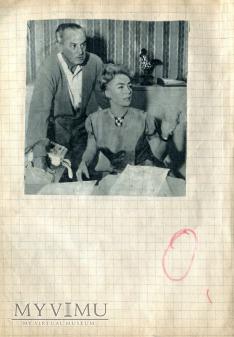 Duże zdjęcie Alida Valli Joan Crawford + scrapbooking