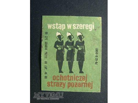 Etykieta - Wstąp w szeregi ochotniczej straży